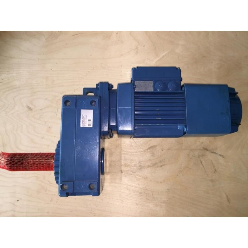 Demag Flach Getriebemotor Zba90 A 4 B020 Ame40dd Gloning