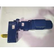 Flachgetriebebremsmotor ZBF 63 A8/2 B003 - DFC11DD - AUV40DD