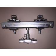 Kurzaufhängung komplett zu HB-System (Nutzbreite 121-220mm)